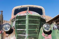 老卡车前端 免版税图库摄影