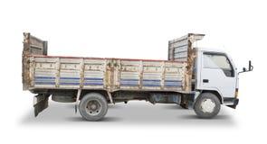 老卡车(包括的裁减路线) 库存照片