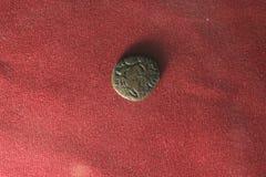 老印地安硬币 免版税图库摄影