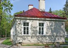 老历史军事hospi的第十一个木校园 库存照片