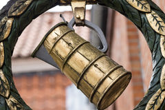 老历史啤酒厂 库存照片
