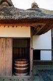 老历史的武士房子在佐仓市,千叶,日本 免版税库存图片