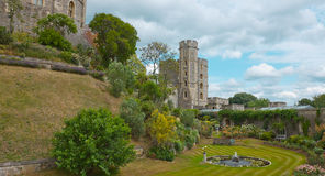 老历史的英国城堡温莎 图库摄影