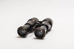 老双筒望远镜 库存图片