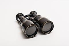 老双筒望远镜 免版税库存图片
