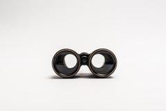 老双筒望远镜 免版税库存照片