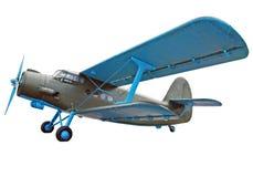 老双翼飞机 库存照片