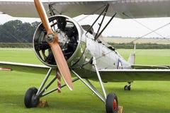 老双翼飞机 库存图片