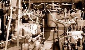 老发动机 库存照片