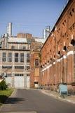 老发电站 免版税库存照片