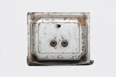 老变压器 免版税库存图片