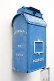 老古巴哈瓦那邮箱 库存图片