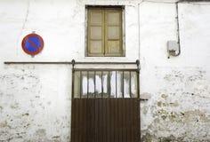 老古色古香的之家 库存照片