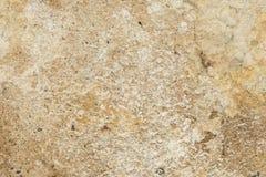 老古色古香的墙壁的表面的纹理从湿气有膏药层数的毁坏的,很多镇压,在墙壁上的水泡 免版税库存图片