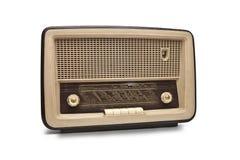 老古色古香的收音机 库存图片