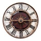 老古色古香的时钟 库存图片