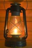 老古色古香的灯笼油 免版税图库摄影