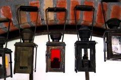 老古色古香的灯笼 库存图片