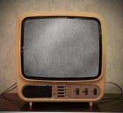 老古色古香的电视 库存照片
