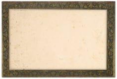 老古铜色框架 免版税库存图片