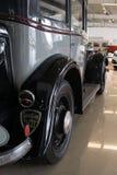老可收回的紧凑四缸轿车-标致汽车301,1933年 免版税库存图片