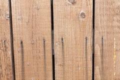 老可能某事对木的表面写道 免版税库存图片