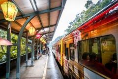 老台湾火车 免版税库存图片