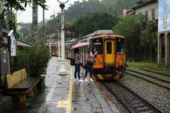老台湾火车 库存图片