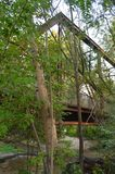 老台车桥梁 库存照片