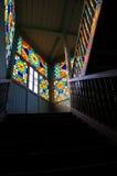 老台阶第比利斯城镇 库存图片