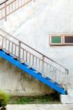 老台阶 库存照片