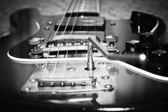 老吉他 图库摄影