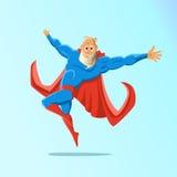 老吸引人行家超级英雄 3个a4活动另外的梯度例证也没有包括比例超级英雄透明度使用的版本 也corel凹道例证向量 库存照片