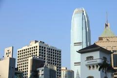 老和新在香港 图库摄影