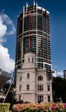 老和新的大厦在布里斯班 免版税图库摄影