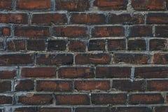 老和破旧的外部砖墙 免版税库存图片