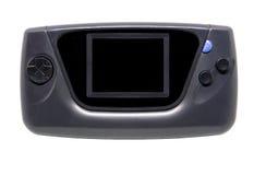 老和肮脏的便携式的比赛控制台 库存图片