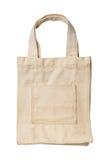 老和肮脏的布料袋子 库存图片
