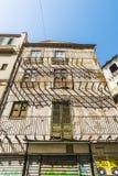 老和被放弃的大厦在巴勒莫,西西里岛,意大利 库存图片