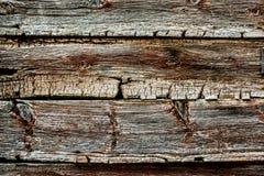 老和破旧的木板条 免版税库存图片