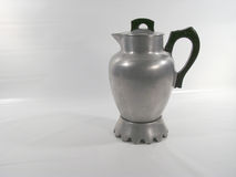 老咖啡壶金属 图库摄影