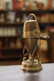 老咖啡壶 免版税库存照片
