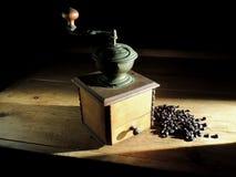 老咖啡碾 库存照片