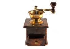 老咖啡grindergrinder 免版税库存照片