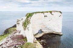 老哈里岩石,多西特,英国 库存照片