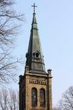 老哥特式教会 库存照片