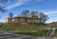 老哥罗德诺城堡 库存照片