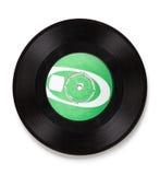 老唱片-裁减路线 库存照片
