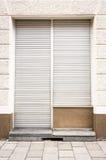 闭合的商店 免版税库存图片