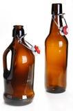 老啤酒瓶 免版税库存照片